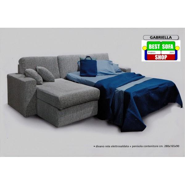 Divano Letto Angolare Con Rete Elettrosaldata.Divano Gabriella Best Sofa Shop
